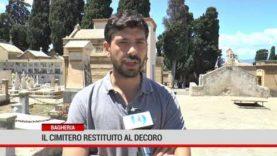 Bagheria. Il cimitero restituito al decoro