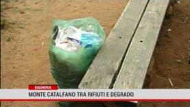 Bagheria. Monte Catalfano tra rifiuti e degrado