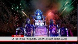 Belpasso.  la 77° Festa del Patrocinio di S. Lucia senza carri