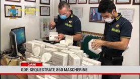Carini. Gdf: sequestrate 860 mascherine