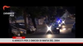 Catania. 6 arresti per 2 omicidi di mafia nel 2004