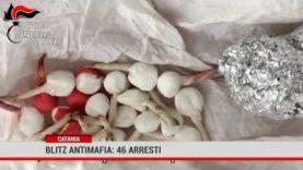 Catania. Blitz antimafia: 46 arresti
