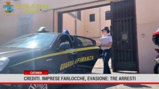Catania. Crediti, imprese farlocche ed evasione : 3 arresti