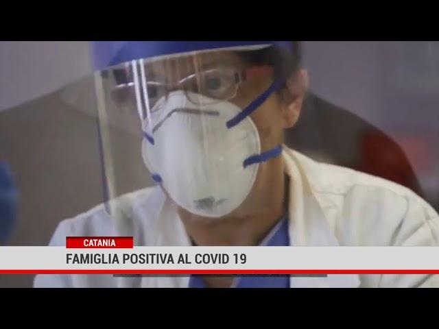 Catania. Famiglia positiva al Covid 19