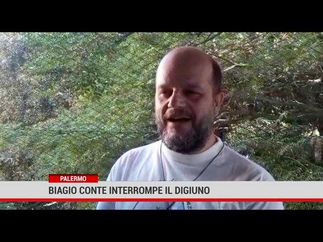 Dopo 40 giorni, Biagio Conte interrompe il digiuno