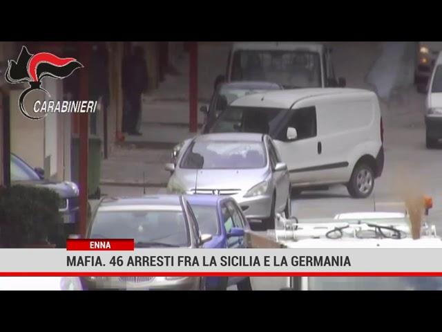 Enna. Operazione antimafia fra la Sicilia e la Germania: 45 arresti