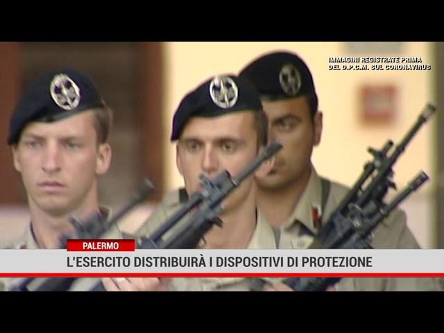 L' esercito distribuirà i dispositivi di protezione