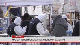 Lampedusa. Migranti: decine di arrivi a bordo di barchini