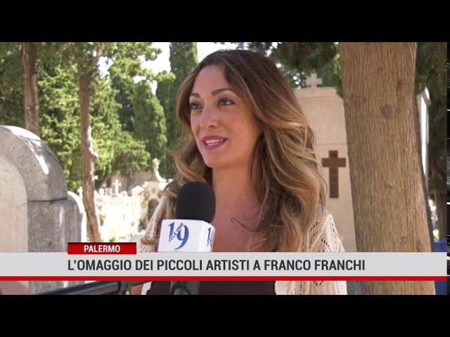 L'omaggio dei piccoli artisti a Franco Franchi