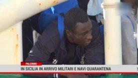 Migranti. In Sicilia nave – quarantena e invio Forza armate