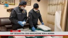 Misilmeri. Gdf sequestra 3000 mascherine non a norma