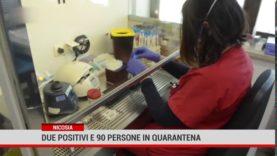 Nicosia: due positivi e 90 persone in quarantena