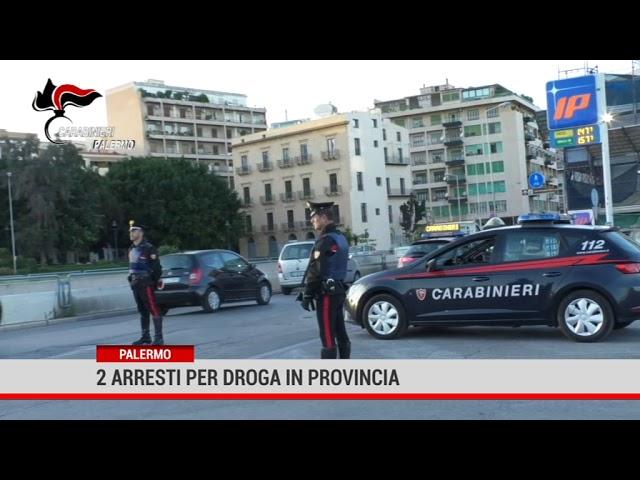 Palermo. 2 arresti per droga in provincia