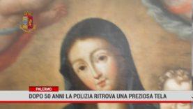 Palermo. A 50 anni dalla scomparsa la polizia ritrova una preziosa tela