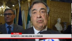 Palermo. Ai comuni siciliani i 300 milioni del fondo perequativo regionale