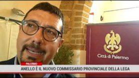 Palermo. Anello è il nuovo commissario provinciale della Lega