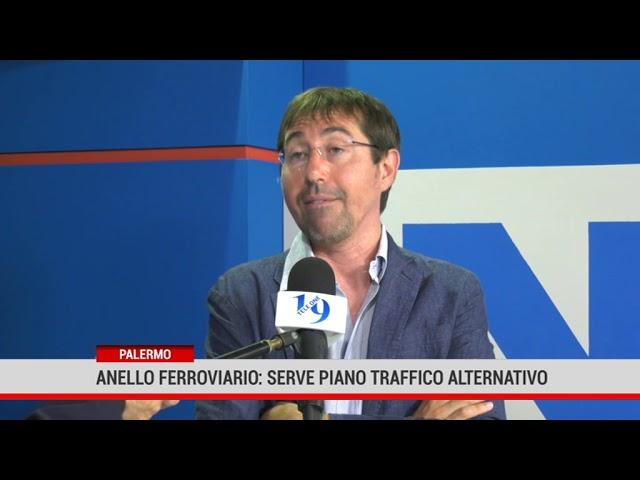 Palermo. Anello ferroviario: serve piano traffico alternativo