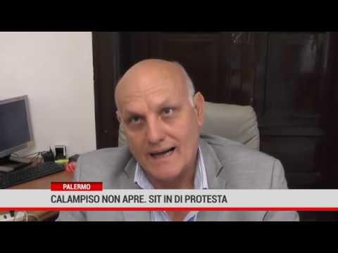 Palermo. Calampiso non apre, sit in di protesta.