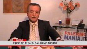 Palermo. Cidec: no ai saldi dal primo agosto