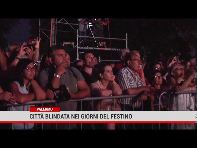 Palermo. Città blindata nei giorni del Festino