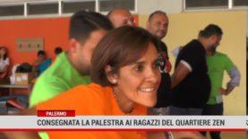 Palermo. Consegnata la palestra ai ragazzi del quartiere Zen