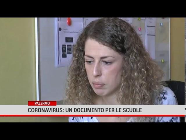 Palermo. Coronavirus: un documento per le scuole