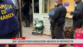 Palermo. Gdf: sequestrato locale di vendita abusiva di ortofrutta