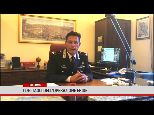 Palermo. I dettagli dell'operazione Eride