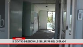 Palermo. Il centro Irsap abbandonato al degrado