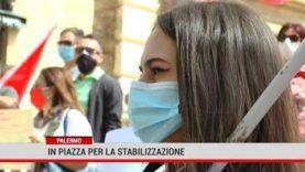 Palermo. In piazza per la stabilizzazione