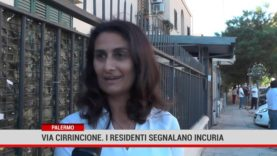 Palermo. In Via Cirrincione i residenti segnalano incuria