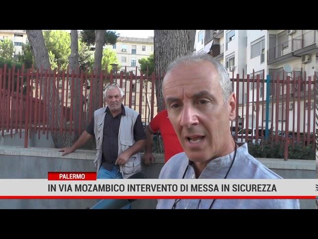 Palermo. In via Mozambico intervento straordinario di messa in sicurezza