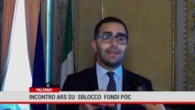 Palermo. Incontro Ars su sblocco fondi Poc