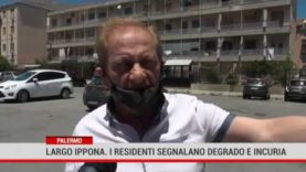 Palermo. Largo Ippona. I residenti segnalano degrado e incuria
