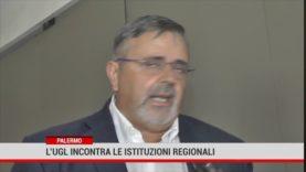 Palermo. L'Unione generale del lavoro incontra le istituzioni regionali