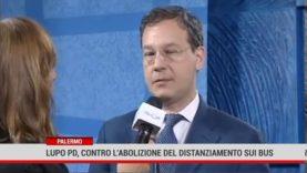 Palermo. Lupo Pd contro l'abolizione del distanziamento sui bus