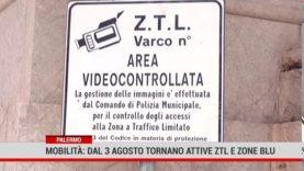 Palermo.Mobilità: dal 3 agosto tornano attive ztl e strisce blu