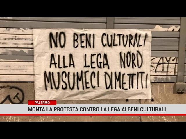 Palermo. Monta la protesta contro la lega ai Beni culturali