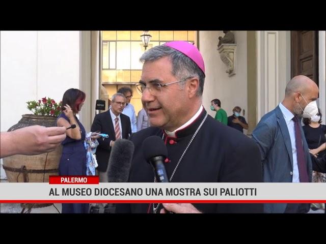 """Palermo. Museo Diocesano:""""Architetture barocche in argento e corallo"""""""