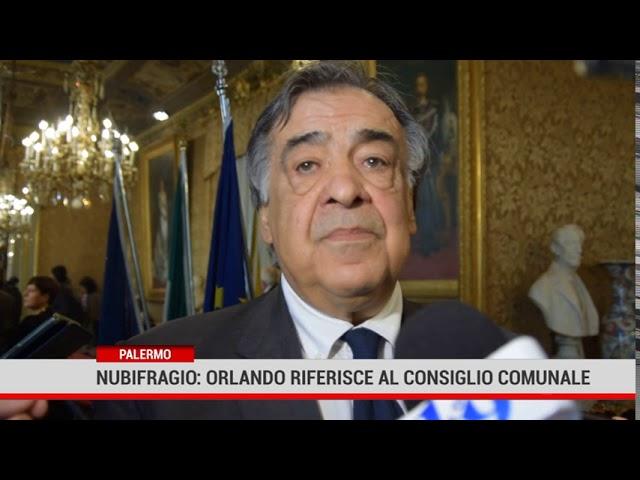 Palermo. Nubifragio: Orlando riferisce al Consiglio comunale