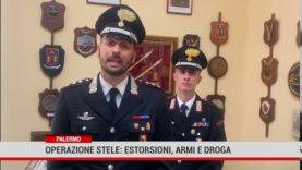 Palermo. Operazione Stele: estorsioni, armi e droga