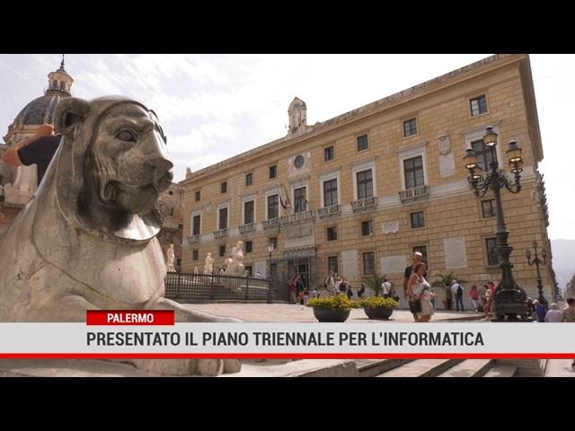 Palermo. Presentato il piano triennale per l'informatica
