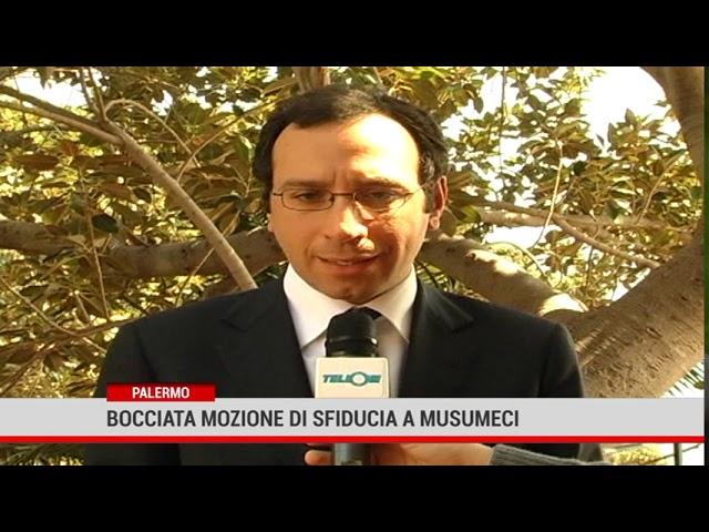 Palermo. Respinta la mozione di sfiducia al presidente della Regione
