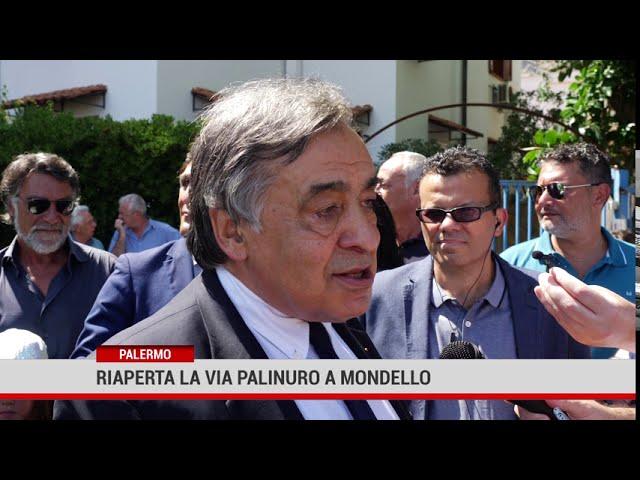 Palermo. Riaperta la via Palinuro a Mondello