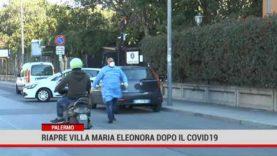 Palermo. Riapre Villa Maria Eleonora dopo il focolaio Covid