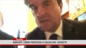 Palermo. Rinviati 10.800 processi a causa del Covid 19