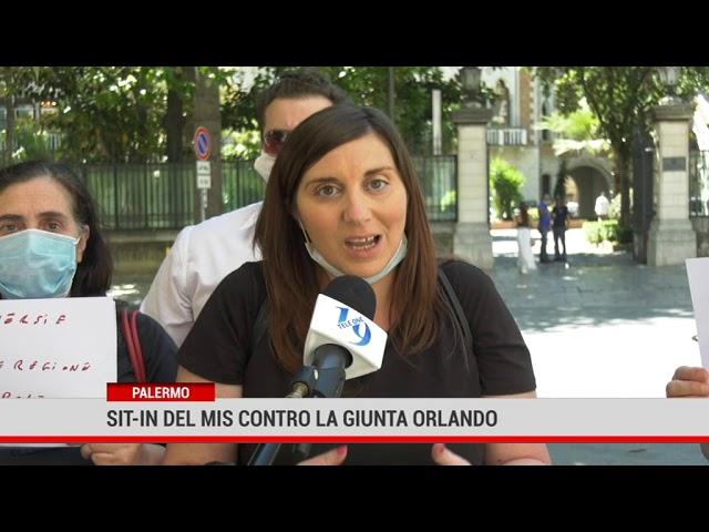 Palermo. Sit in del Mis contro la giunta Orlando