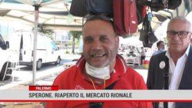 Palermo. Sperone.Riaperto il mercato rionale
