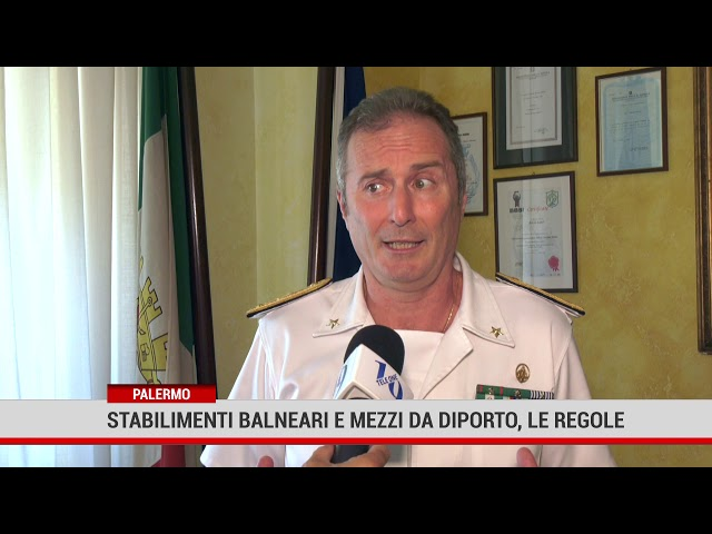 Palermo. Stabilimenti balneari e mezzi da diporto, le regole