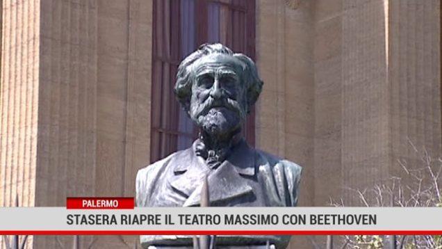 Palermo. Stasera riapre il Teatro Massimo con Beethoven